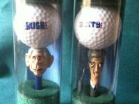 "I have one each 2004 golf ball and tee""s, $20 OBO,"