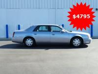 New Price! This 2004 Cadillac DeVille in Blue features:
