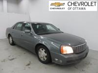 Thunder Gray 2004 Cadillac DeVille 4D Sedan FWD 4-Speed