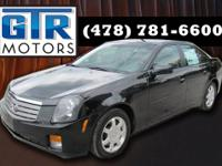 This CTS rides and drives great. Clean. Leather with