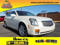 This 2004 Cadillac CTS Base includes premium speakers,
