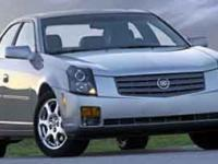 Options Included: Power Sunroof2004 Cadillac CTS
