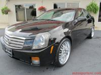 For Sale is this sharp looking black 2004 Cadillac CTS!