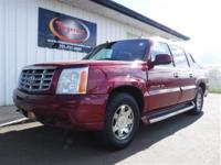 LOCAL TRADE 2004 CADILLAC ESCALADE EXT AWD WITH HEATED