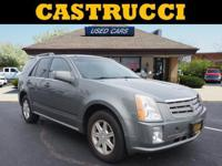 Recent Arrival!  Clean CARFAX.  Gray 2004 Cadillac SRX