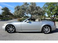 This 2004 Cadillac XLR Hard top convertible is Nice and