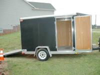 2004 Car Mate Trailer 6x10 Vantage V-Front, Motorcycle