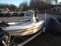 2004 Caravelle 180 Center Console powered by Yamaha 90