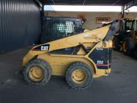 2004 Caterpillar 252 Cab-Heat-A/C 2 Speed Block Heater