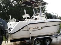 2004 Century 22ft center console boat with 2004 Yamaha