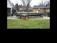 Champ Bass Boat with 2004 Yamaha 300 HPDI (reduced hrs)