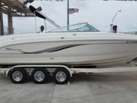 04' Chaparral 256 SSI 26FT Bow Rider with a 8.1L V8(284