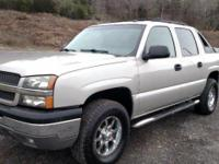 2004 Chevy Avalanche 4x4, air conditioning, alarm