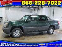 5.3L, V8, 4WD, 4 Speed automatic W/Overdrive, 4 Door,
