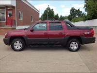 Options:  2004 Chevrolet Avalanche 1500|4Dr 1500 4Wd