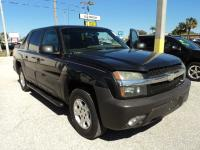 2004 CHEVY AVALANCHE 1500 5DR CREW CAB. BLACK. GRAY