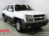 2004 Chevrolet Avalanche 1500 Summit White 4X4, Local