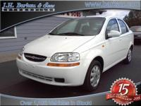 Options Included: PIN Stripe2004 Chevrolet Aveo -