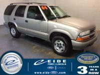 2004 Chevrolet Blazer LS. Pre-Auction Vehicle. These