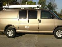 2004 Chevrolet 2500 Cargo Van. This vehicle is a fleet