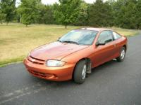 I have a four door chevrolet cavalier for sale! Its