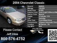 Call Jeff Cline at  Stock #: 668523 VIN: