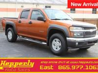 Clean CARFAX. This 2004 Chevrolet Colorado LS in