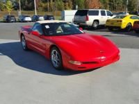 ONLY 37,676 Miles! Corvette trim. Leather Seats, Dual