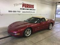 Options:  2004 Chevrolet Corvette Base|Red Hot! And