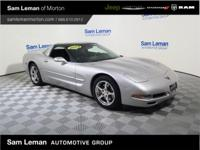 This 2004 Corvette in Machine Silver Metallics is One