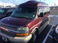 Clean CARFAX. Red 2004 Chevrolet Express Van G1500