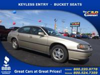 Used 2004 Chevrolet Impala,  DESIRABLE FEATURES: