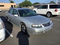 Silver 2004 Chevrolet Impala LS FWD 4-Speed Automatic
