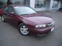 Options Included: N/A2004 CHEVY IMPALA LS FOUR DOOR