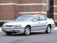 2004 Chevrolet Impala LS FWD Recent Arrival! 4-Speed