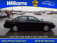 Options:  2004 Chevrolet Impala Ls|Black| This Vehicle