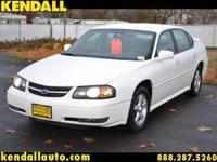 FRESH LOCAL TRADE.THIS IMPALA HAS THE 3.8 V6.THIS MOTOR