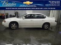 Impala LS 3.8 L V6 SFI and 4-Speed Automatic with