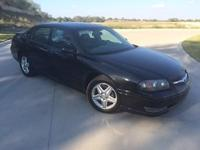 2004 Chevrolet Impala !! Black with grey interior!!