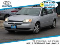 Priced below Market!* This 2004 Chevrolet Malibu