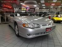 >>2004 CHEVY MONTE CARLO SS LEATHER POWER MOONROOF DUAL