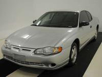 Options Included: 2004 Chevy Monte Carlo With Cloth
