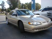 Options Included: N/ASuper nice Chevy Monte Carlo with