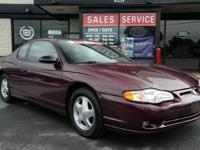2004 Chevrolet Monte Carlo SS 2dr Coupe - LOW FINANCING