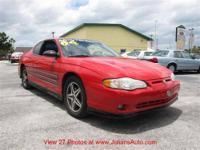 2004 Chevrolet MONTE CARLO Two-Door Coupe 2dr Cpe SS