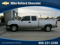 Options Included: N/A2004 CHEVROLET Silverado 1500 Ext