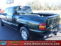 Clean CARFAX. Dark Green Metallic 2004 Chevrolet