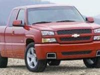 Silverado SS trim. Heated Seats, All Wheel Drive, Alloy