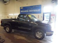 Options Included: 4 Wheel DriveWork Truck trim, Black