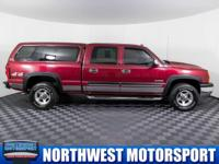 One Owner Clean Carfax 4x4 Truck with Canopy!  Options: